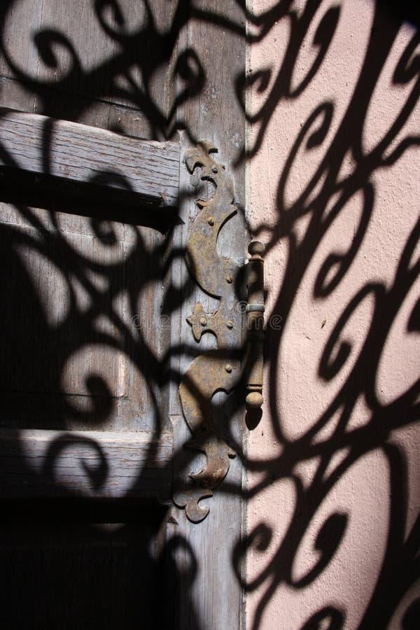 Cerniera ombreggiata fotografia stock