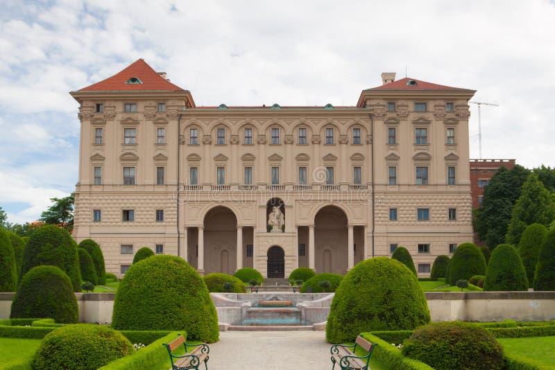 Cernin pałac w Praga obraz stock