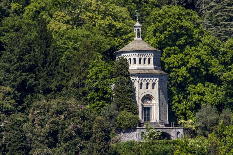 Cernobbio, Ιταλία στοκ φωτογραφίες