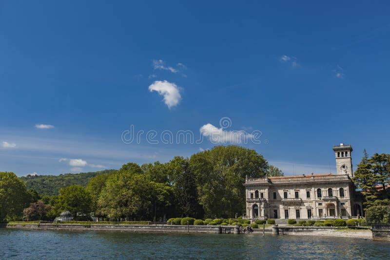 Cernobbio, Ιταλία στοκ φωτογραφία με δικαίωμα ελεύθερης χρήσης