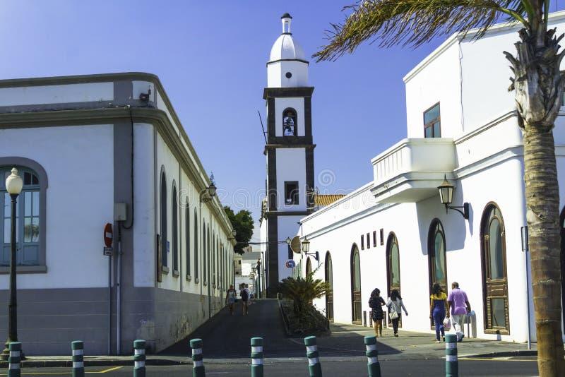 Cerntal Arrecife Lanzarote στοκ εικόνες με δικαίωμα ελεύθερης χρήσης