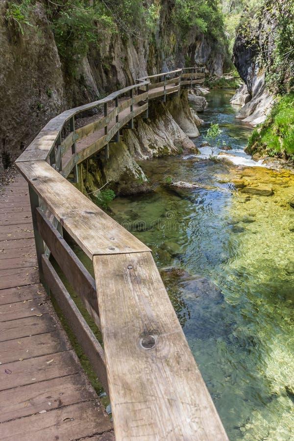 Cerrada de Elias gorge in Cazorla National Park. Spain royalty free stock images