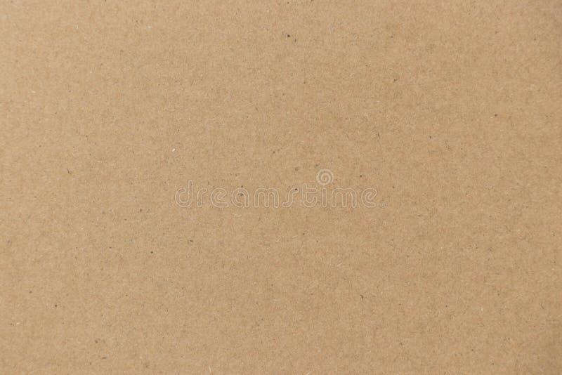 Cerrado para arriba de color marrón acanaló el fondo del tablero de papel imagen de archivo
