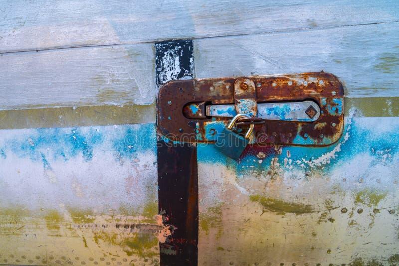 Cerradura de Aicraft foto de archivo libre de regalías