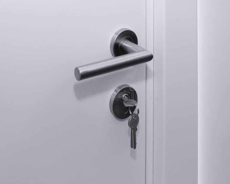 Cerradura de puerta interior dominante imagenes de archivo