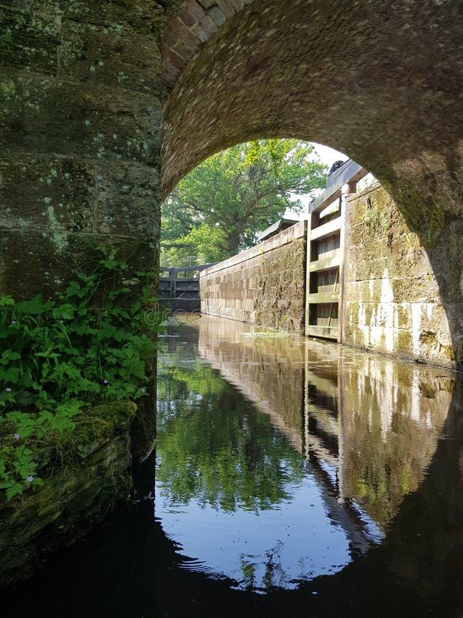 Cerradura de Wey y de Arun Canal fotos de archivo