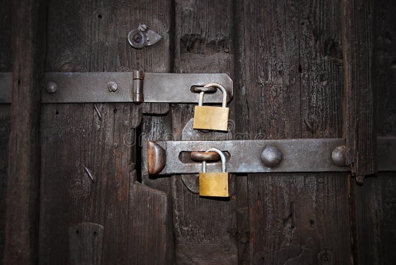 Cerraduras de seguridad fotografía de archivo libre de regalías