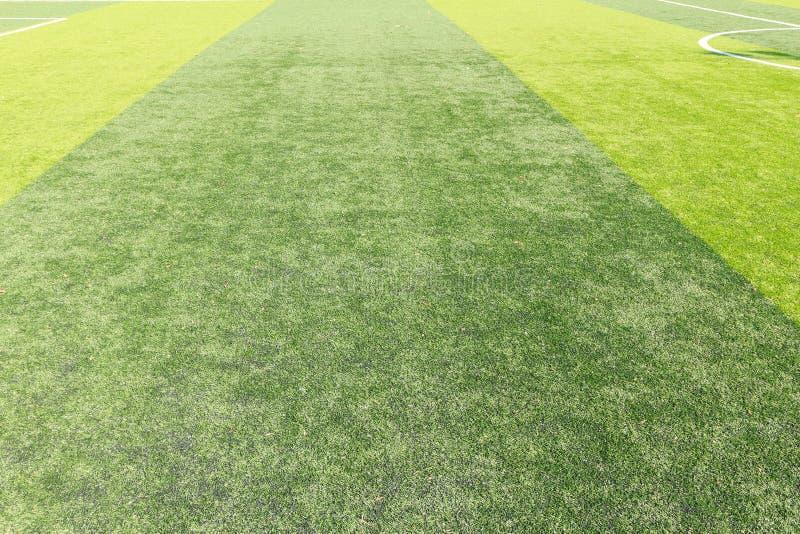 Cerrar la textura de hierba verde del campo de fútbol fotos de archivo