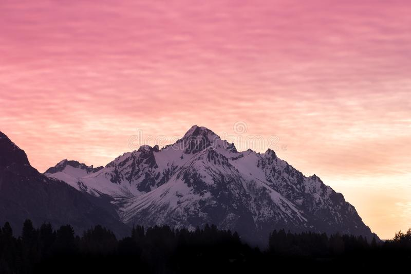 Cerro Capilla stock image