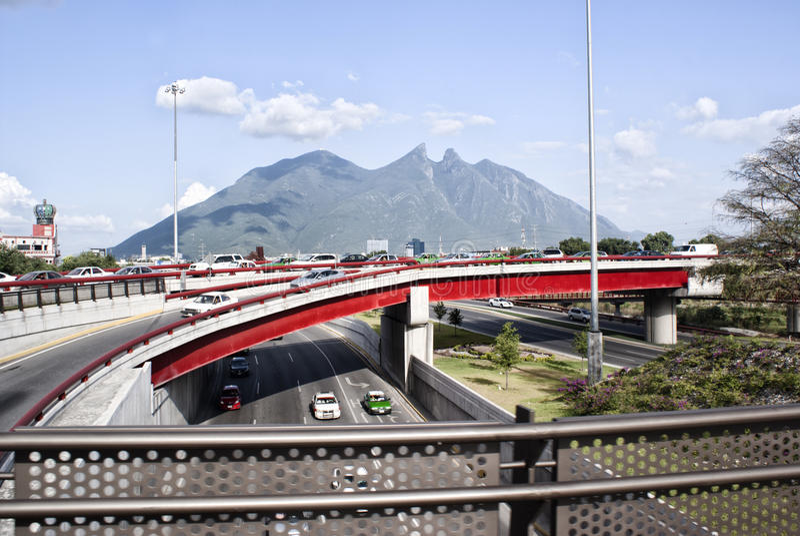 Cerro DE La Silla Monterrey Mexico stock fotografie