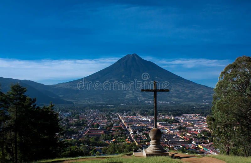 Cerro De Los angeles Cruz zdjęcia royalty free