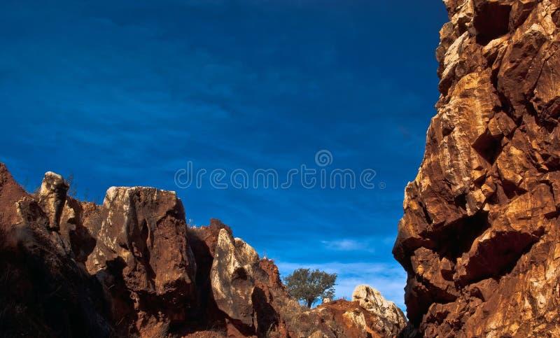 cerro del hierro βράχοι στοκ φωτογραφία με δικαίωμα ελεύθερης χρήσης