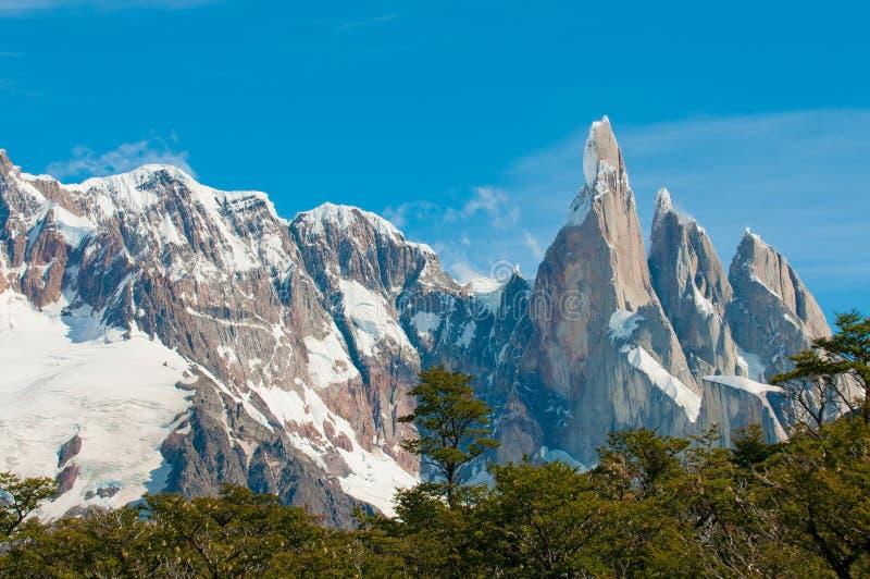 Cerro góra Torre, Patagonia, Argentyna obrazy royalty free