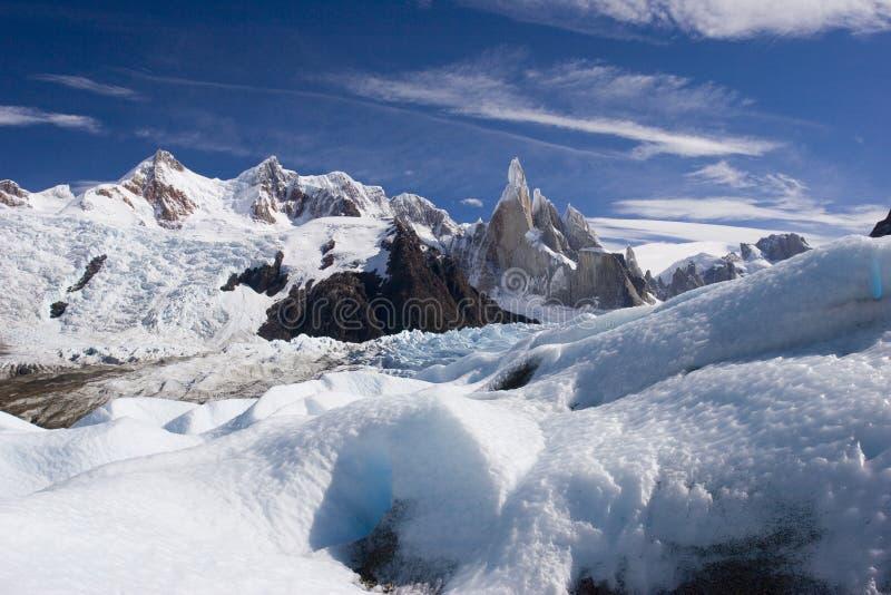 cerro lodowa s torre obrazy stock