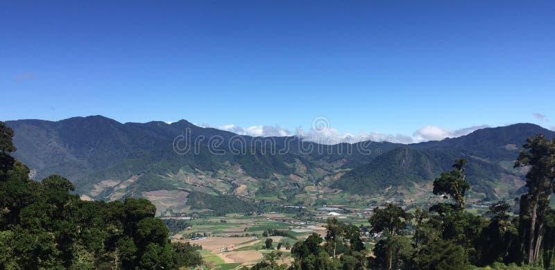 Cerro Punta Valle стоковое изображение rf