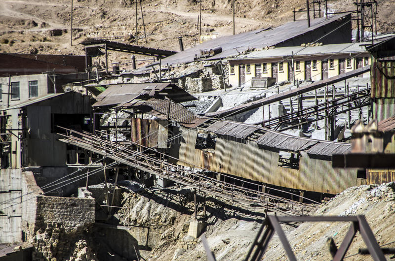 Cerro Rico μεταλλεία, Ποτόσι, Βολιβία στοκ φωτογραφία με δικαίωμα ελεύθερης χρήσης