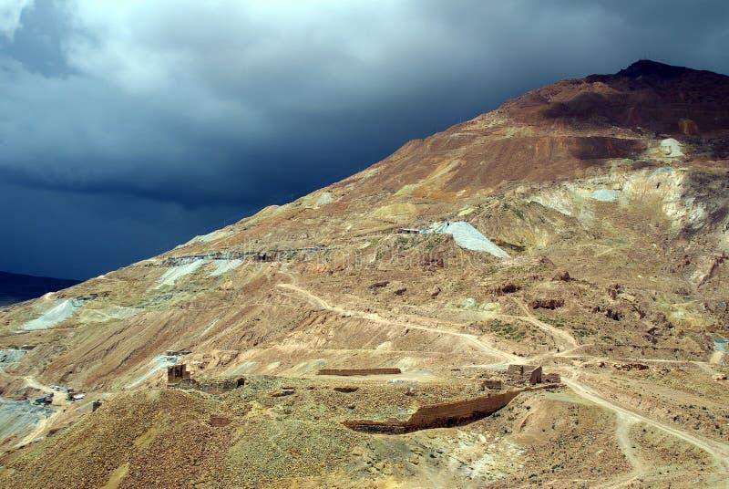 Cerro Rico, Bolivia imagenes de archivo