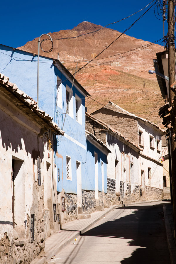 Cerro Rico, Bolivia royalty free stock image