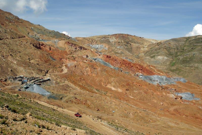 Cerro Rico - Potosi, Bolivia fotografía de archivo libre de regalías