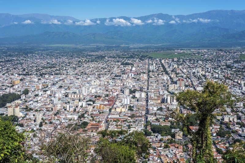 Cerro San Bernardo, Salta, la Argentina. imagen de archivo libre de regalías