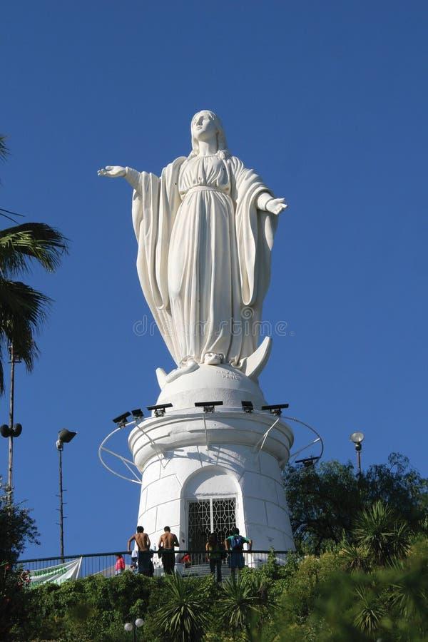 Cerro San Cristobal stock afbeelding