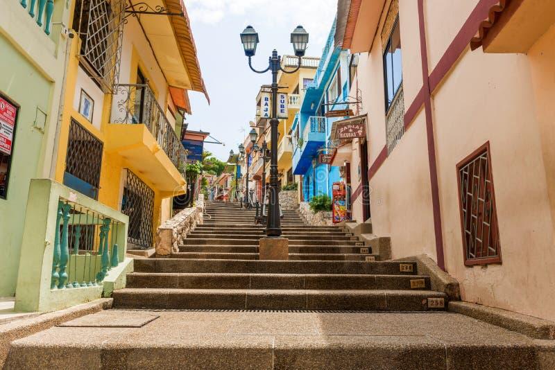 Cerro Santa Ana Guayaquil Ecuador image libre de droits