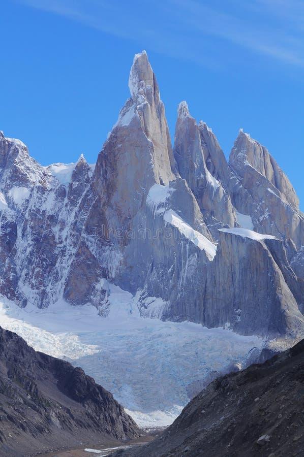 Cerro Torre βουνό. στοκ φωτογραφία