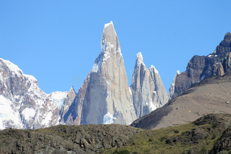Cerro Torre photographie stock libre de droits