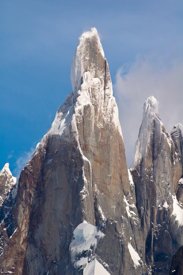 Cerro Torre royalty-vrije stock fotografie