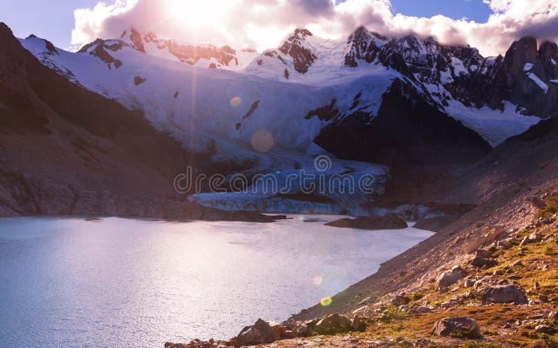Cerro Torre royalty free stock image