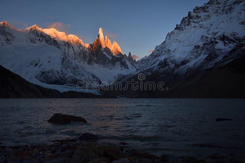Cerro Torre, Patagonia zdjęcia royalty free