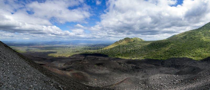 Cerro Zwarte, NICARAGUA royalty-vrije stock afbeelding