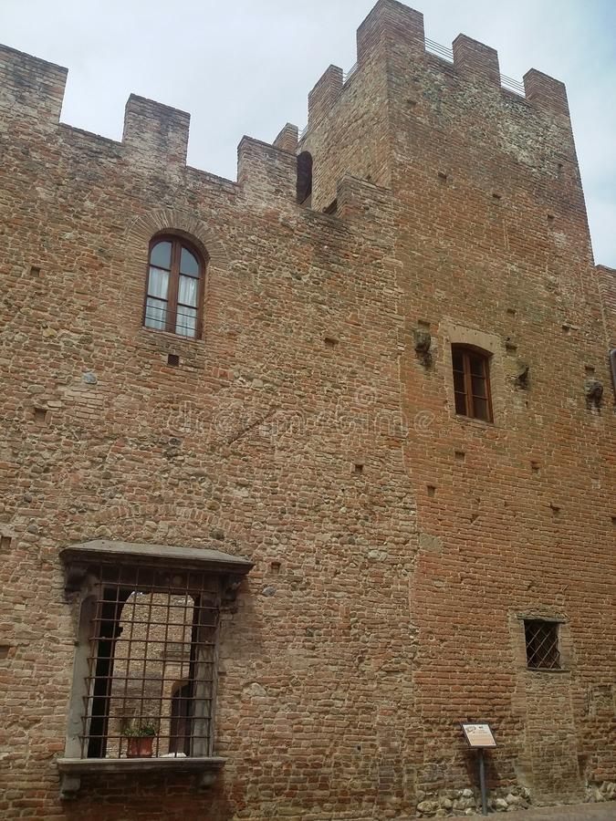 Certaldo, destination italienne dans Tuscania photos libres de droits