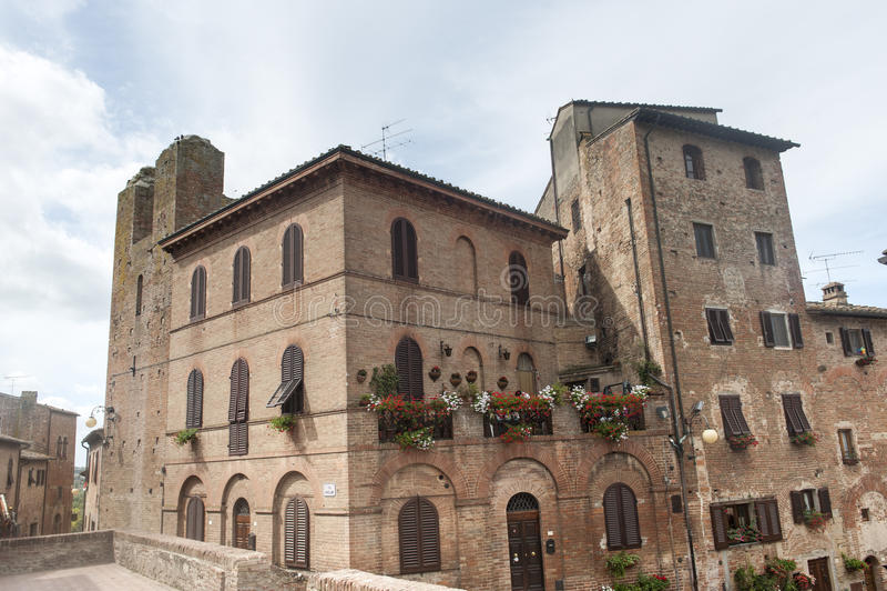 Certaldo (Firenze) fotografia stock libera da diritti