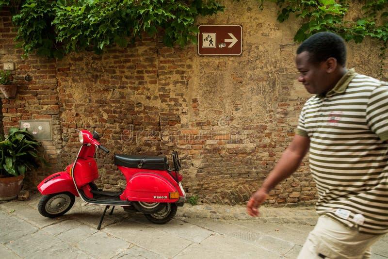 Certaldo, Firenze - Toscane, Italie photos stock