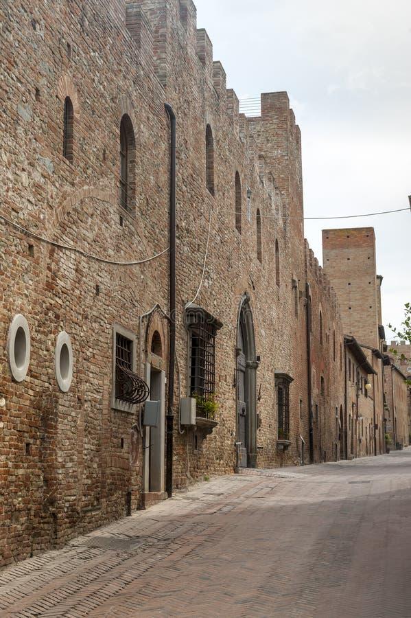 Certaldo (Florence) royalty-vrije stock foto's