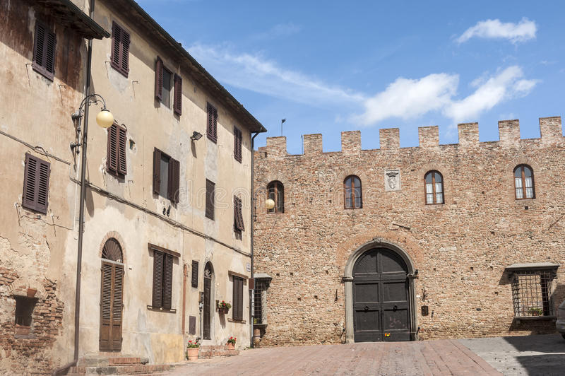 Certaldo (Florence) royalty-vrije stock afbeelding