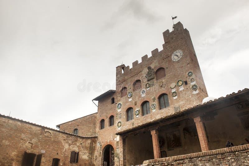 Certaldo (Florencia) imagen de archivo