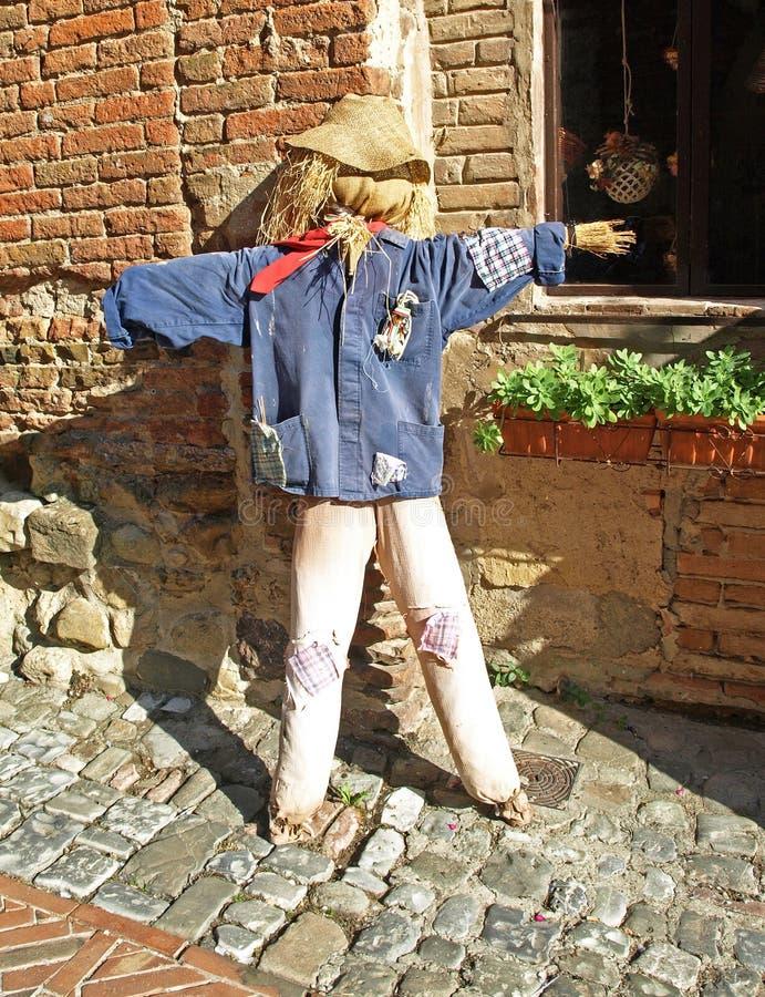 Certaldo Scarecrow stock image