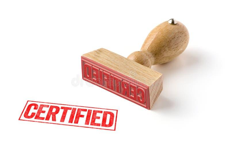 certifié images stock