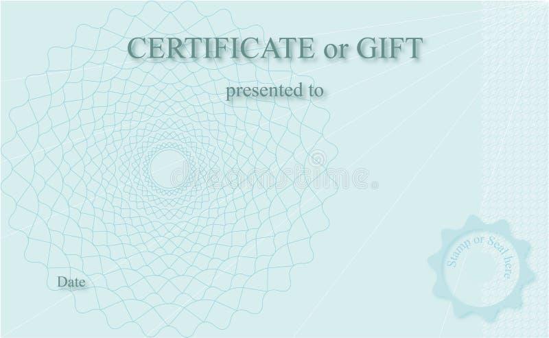 Certificaat royalty-vrije stock foto's