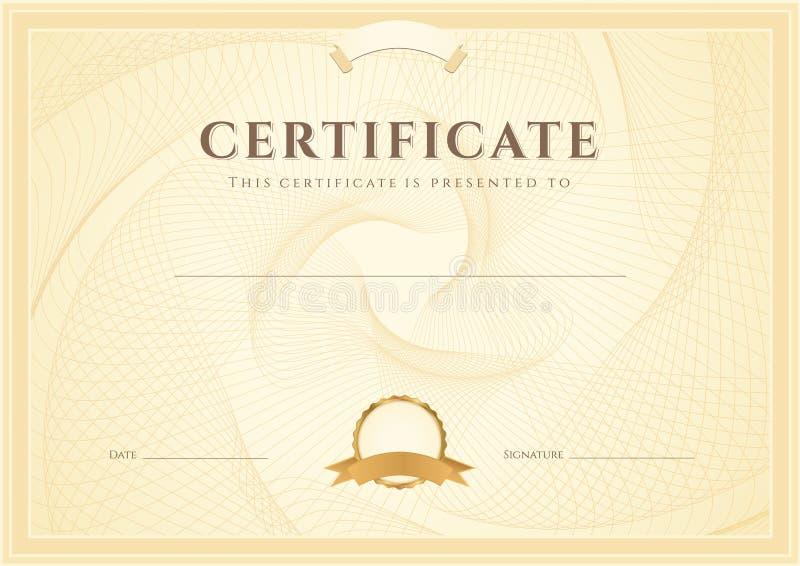 Certificaat/Diplomaachtergrond (malplaatje)
