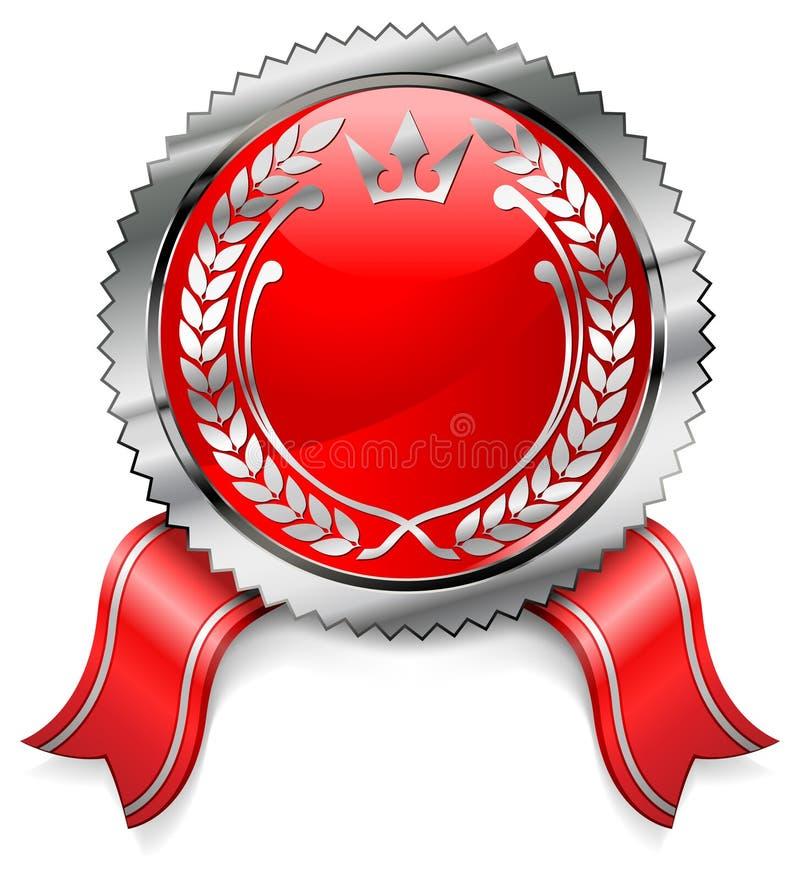 Certificaat met lint stock illustratie