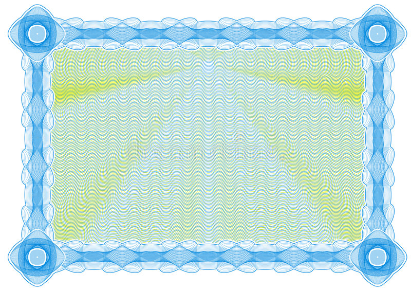 Certificación ilustración del vector