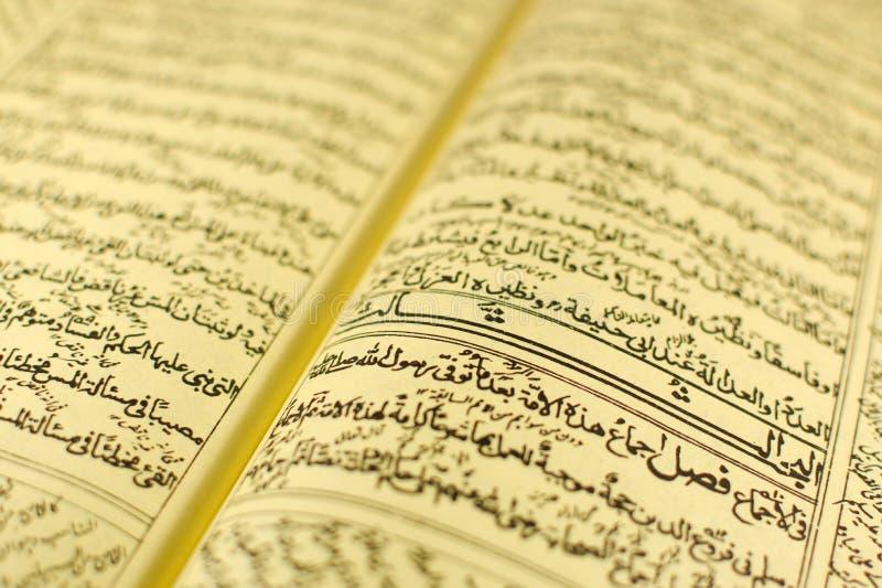 Certificado árabe imagens de stock