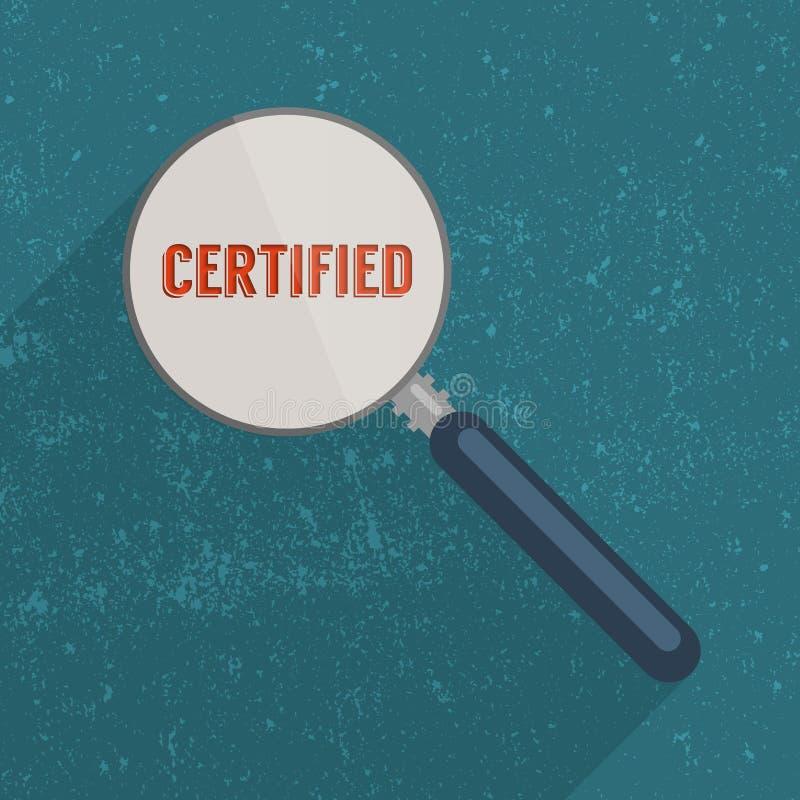certificado ilustração do vetor