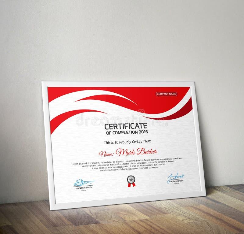 certificado fotografía de archivo libre de regalías