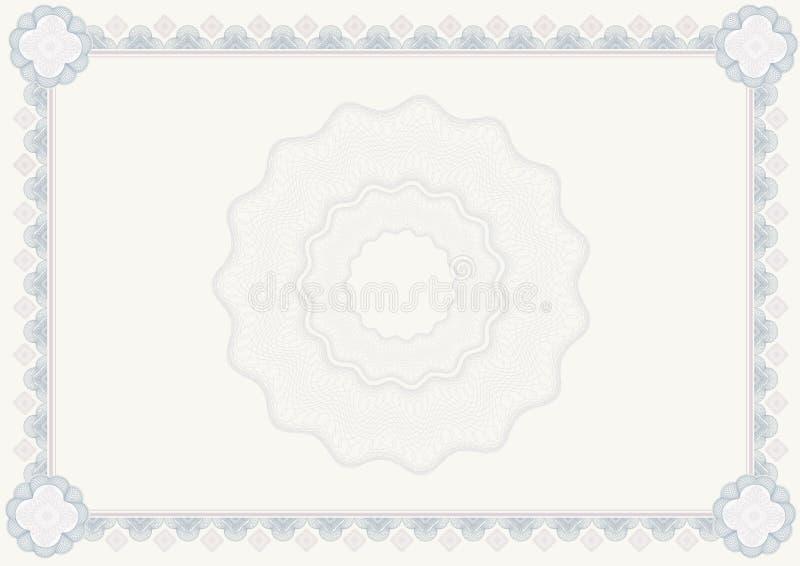 Download Certificado do diploma ilustração stock. Ilustração de finanças - 12805113