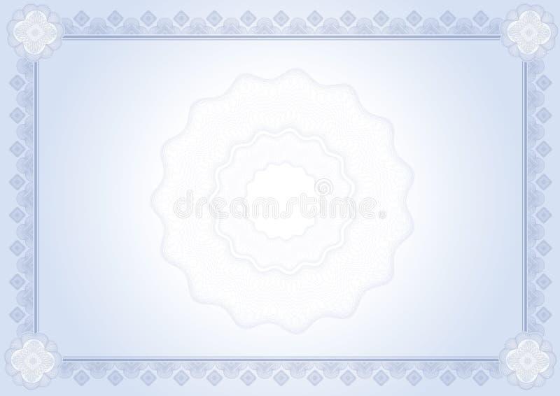 Download Certificado do diploma ilustração stock. Ilustração de negócio - 12805121