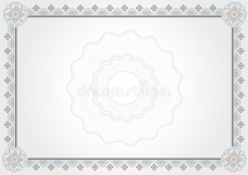 Download Certificado do diploma ilustração stock. Ilustração de currency - 12805130